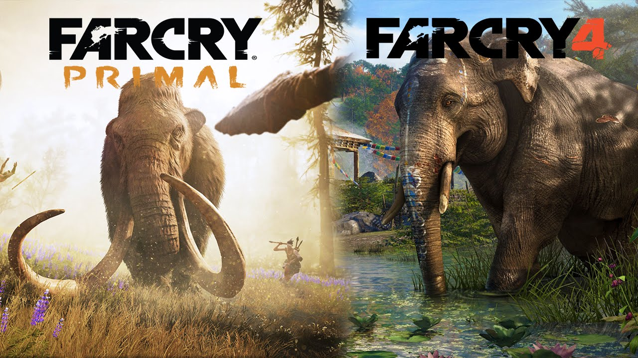 Far Cry Primal + Far Cry 4 Double Pack