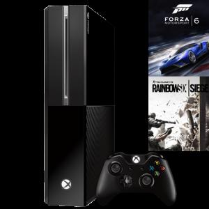 Xbox ONE Forza + Rainbow Six