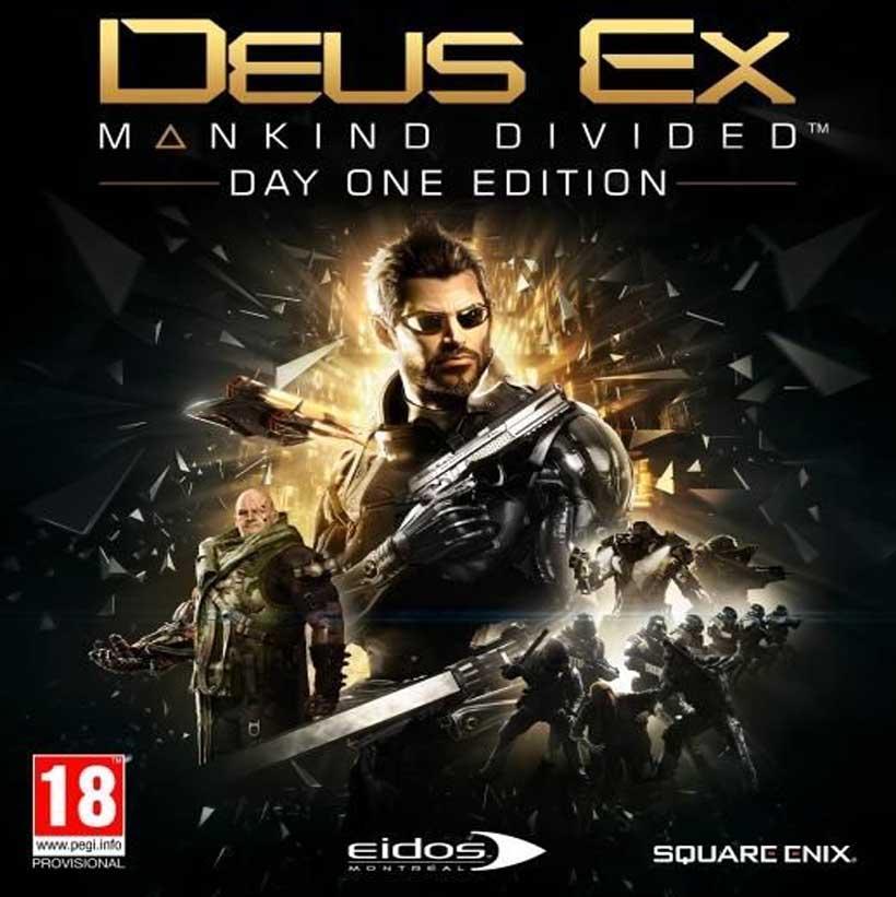 Deus Ex: Mankind Divided - Day 1 Edition
